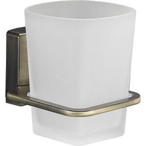 Стакан для ванны Wasserkraft Exter K-5228 светлая бронза мыльница стеклянная wasserkraft exter k 5229 светлая бронза