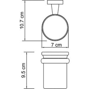 Стакан для ванны Wasserkraft Lippe K-6500 (K-6528)