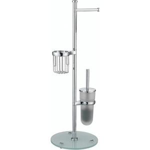 Стойка для туалета Wasserkraft K-1256 с круглым основанием стойка для ванной комнаты wasserkraft напольная комбинированная k 1256