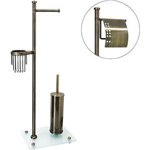 Стойка для туалета Wasserkraft K-1234 светлая бронза