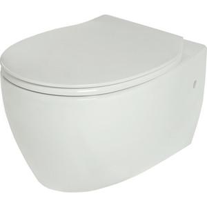 Унитаз подвесной Creo Decart (WD1100+WD1101) унитаз creo ceramique creo ceramique cr1100