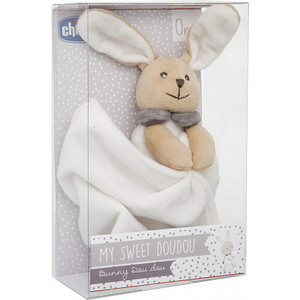 Мягкая игрушка Chicco Зайчик Doudou (00009609000000 ) мягкая игрушка ty зайчик bunnie