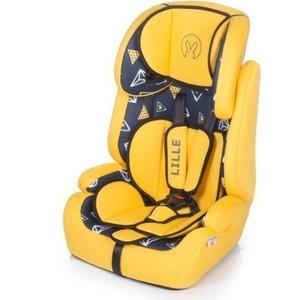 Автокресло BabyHit Lille Blue Yellow blue yellow blue 210t nylon hammock