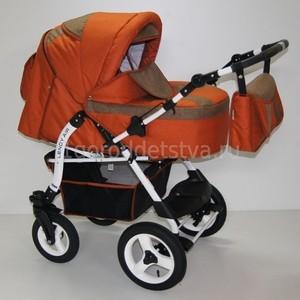 Коляска прогулочная BabyHit Lendy Air Dark Orange