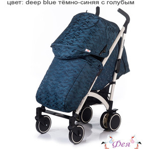 Коляска прогулочная BabyHit Rainbow Lt Deep Blue
