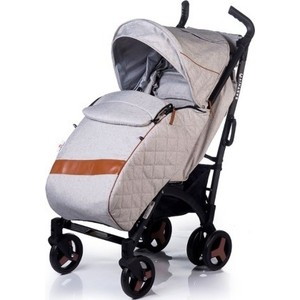 Коляска прогулочная BabyHit Rainbow Xt Linen Light Grey babyhit valente 2 в 1 violet grey