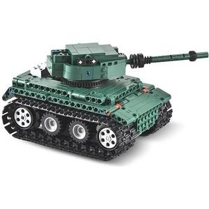 Конструктор Double E Cada Technics Танк Tiger 1, 313 деталей, пульт управления - C51018W