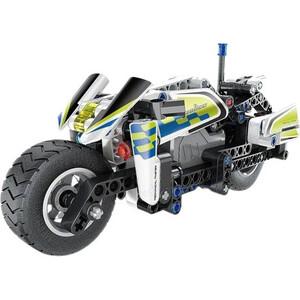 """Конструктор QiHui Technics """"Полицейский мотоцикл"""" (инерционная модель), 193 детали - QH5806"""