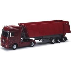 цена на Радиоуправляемый грузовик Rui Chuang Mercedes-Benz Actros Dump Trailer масштаб 1:32 - QY1101C-R