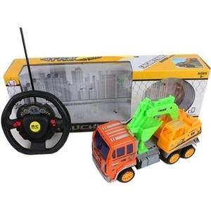Радиоуправляемый грузовик Shantou Gepai с ковшом Shantou Gepai 4 канала - 386-5 кукла shantou gepai с коляской cs5832ha