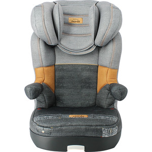 Автокресло Nania Sena 15-36кг Denim Grey серый 845106 бустер baby care bc 781 0 гр iii 22 36кг серый 1023
