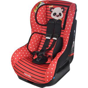 Автокресло Nania Driver 0-18кг Animals Panda Red красный 047246 детское автокресло nania driver hippo