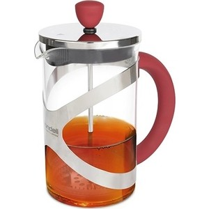 Френч-пресс 0.6 л Rondell Crystal Red (RDS-935) френч пресс rondell 600ml rds 101 tasse