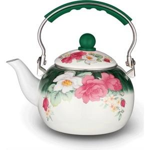 лучшая цена Чайник эмалированный 2.5 л Kelli (KL-4117)