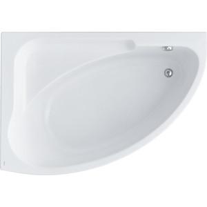 Акриловая ванна Santek Гоа 150х100 см, левая, каркас, слив-перелив (1WH112033, 1WH112428)