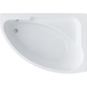 Акриловая ванна Santek Гоа 150х100 см, правая, каркас, слив-перелив (1WH112032, 1WH112032)