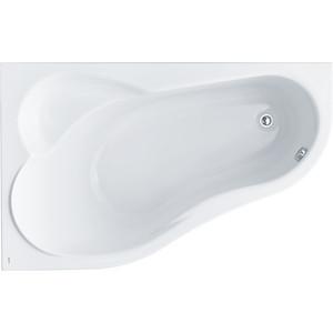 Акриловая ванна Santek Ибица XL 160х100 см, левая, каркас, слив-перелив (1WH112036, 1WH112427)
