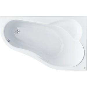 Акриловая ванна Santek Ибица XL 160х100 см, правая, каркас, слив-перелив (1WH112037, 1WH112427) акриловая ванна с гидромассажем kolpa san chad s magic r 170x120 см правая на каркасе слив перелив