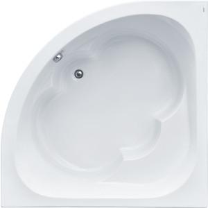 Акриловая ванна Santek Канны 150х150 см, каркас, слив-перелив (1WH111983, 1WH112432)