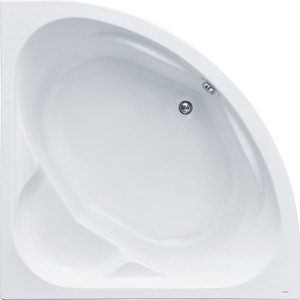 Акриловая ванна Santek Карибы 140х140 см, каркас, слив-перелив (1WH111982, 1WH112430)