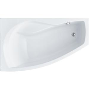 Акриловая ванна Santek Майорка 150х90 см, левая, каркас, слив-перелив (1WH111984, 1WH112431)