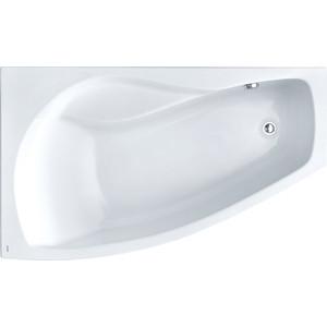 Акриловая ванна Santek Майорка XL 160х95 см, левая, каркас, слив-перелив (1WH111991, 1WH112429) акриловая ванна с гидромассажем kolpa san chad s magic l 170x120 см левая на каркасе слив перелив