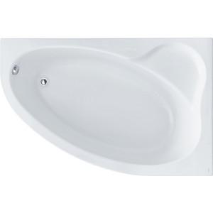 Акриловая ванна Santek Эдера 170х110 см, правая, каркас, слив-перелив (1WH111994, 1WH112426) акриловая ванна santek эдера 170х110 см правая без монтажного комплекта 1wh111994