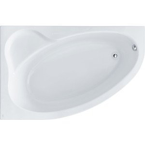 Акриловая ванна Santek Эдера 170х110 см, левая, каркас, слив-перелив (1WH111995, 1WH112426) акриловая ванна santek эдера 170х110 см правая без монтажного комплекта 1wh111994
