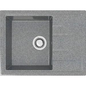 Кухонная мойка Marrbaxx Анастасия Z150Q8 тёмно-серый (Z150Q008) цена 2017