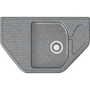 Кухонная мойка Marrbaxx Рики Z22Q8 тёмно-серый (Z022Q008) цена 2017