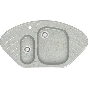 Кухонная мойка Marrbaxx Аделис Z23Q10 светло-серый (Z023Q010)
