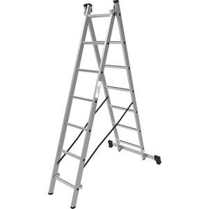 Лестница двухсекционная Олимп 2x7м (1220207A)