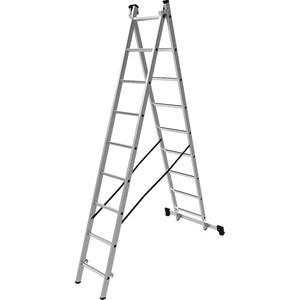 Лестница двухсекционная Олимп 2x9м (1220209A)