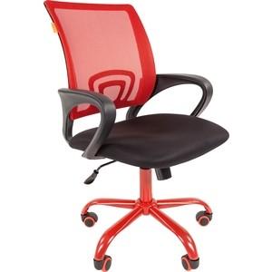 Офисноекресло Chairman 696 TW красный, CMet цена 2017