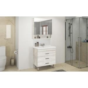Мебель для ванной Comforty Никосия 80Н дуб белый
