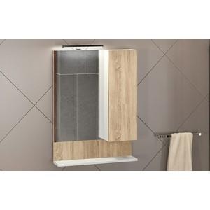 Зеркало-шкаф Comforty Рига 60 дуб сонома (4142211)