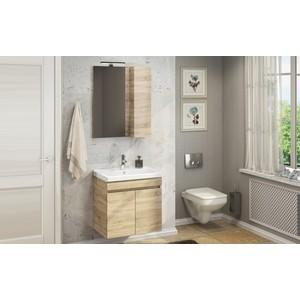 Мебель для ванной Comforty Тромсе 60 дуб сонома цена и фото