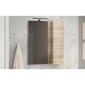 Зеркало-шкаф Comforty Тромсе 60 дуб сонома (4142221)