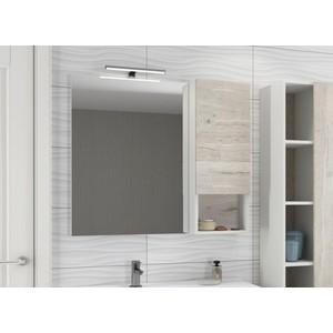 Зеркало-шкаф Comforty Ганновер 90 дуб дымчатый (4142379)