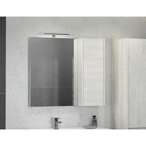 Зеркало-шкаф Comforty Бремен 90 дуб белый (4142374)