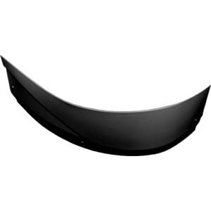 Фронтальная панель Aquanet Graciosa 150 L черная (180282)
