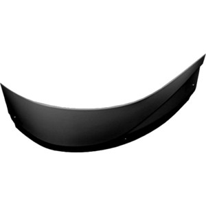 Фронтальная панель Aquanet Graciosa 150 R черная (178043)