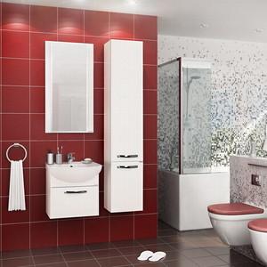 Мебель для ванной Акватон Ария 50 белая цена 2017