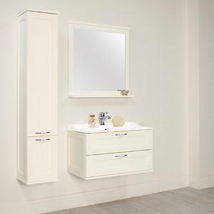 Мебель для ванной Акватон Леон 80 дуб белый