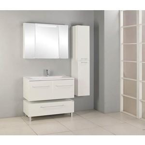Мебель для ванной Акватон Мадрид 100 М 2 ящика, белая акватон мадрид 100 м 1269 1 d2
