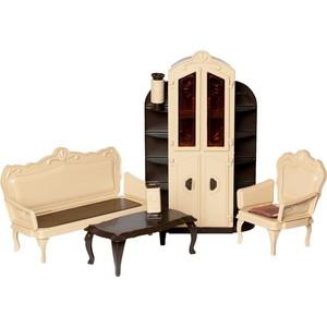 Кукольная мебель Огонек Набор для гостиной Коллекция (С-1299)