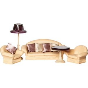 Кукольная мебель Огонек Набор для гостиной Коллекция (С-1302)