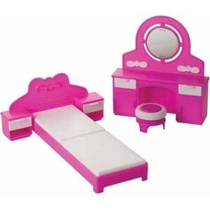 Кукольная мебель Огонек Спальня Зефир (С-1406)