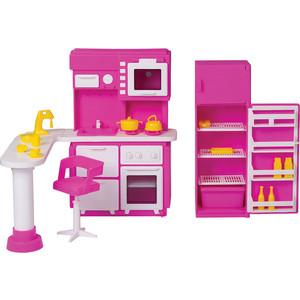 Кукольная мебель Огонек Кухня Зефир (С-1409)