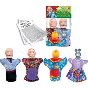 Кукольный театр Русский стиль Курочка Ряба 4 персонажа (11092)